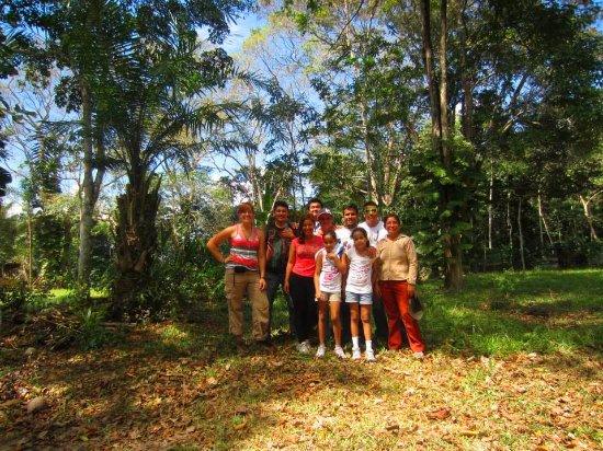 foto de jardin botanico bio kuka pucallpa gracias al sr