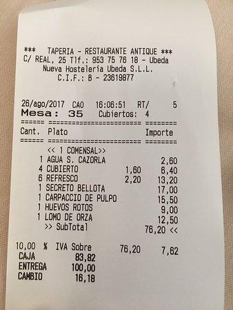 Restaurante-Taperia ANTIQUE : photo5.jpg