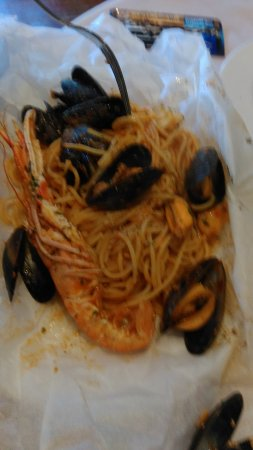 Kirkcolm, UK: Langoustine and Mussels