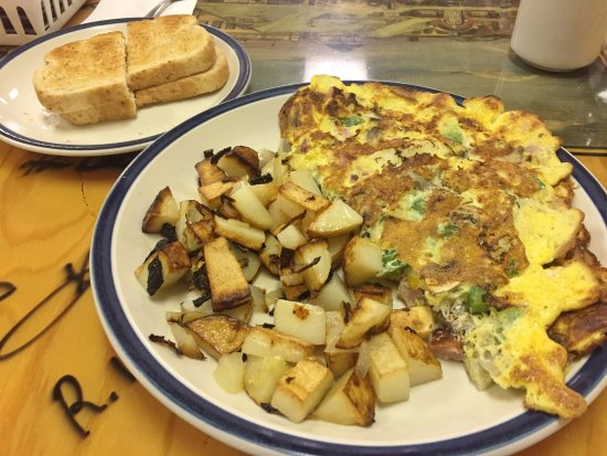 'Silver Cafe' (Loaded) Omelette - Silver Cafe & Confectionary, Cobalt ON