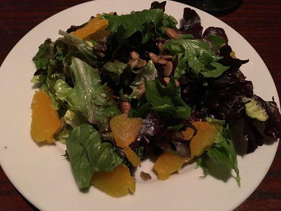 Lumberville, เพนซิลเวเนีย: salad