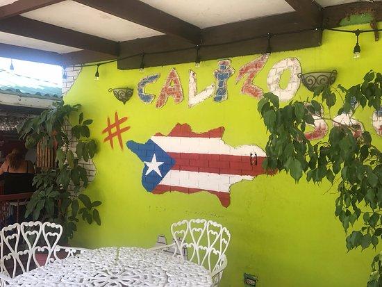 Calizo Restaurant: Kiosko PR