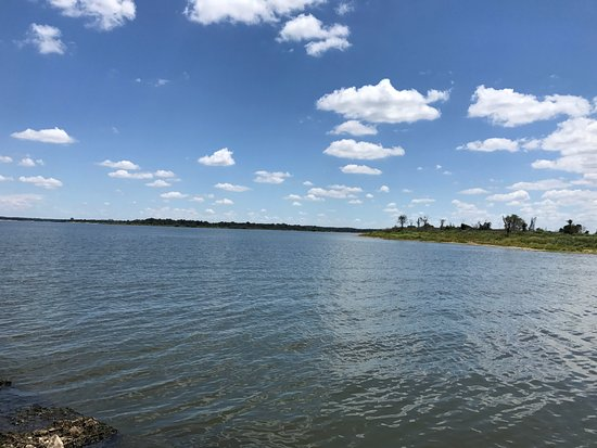 Somerville, TX: Lake view