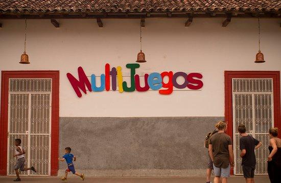 Granada, Nicaragua: Entrada principal los esperamos