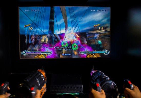 Granada, Nicaragua: Asi se ven nuestra pantalla al jugar pirates no lo pienses mas