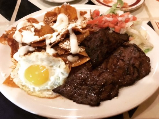 El Potro Mexican Bar & Grill: Chilaquiles Mi Rancho