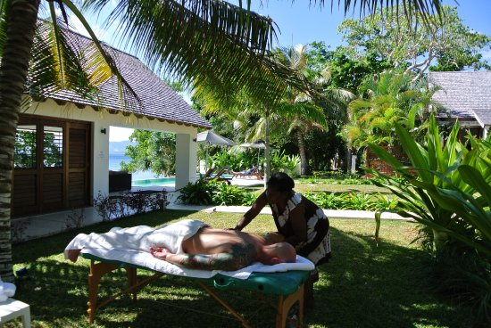 Villa 25: Amazing massages available onsite