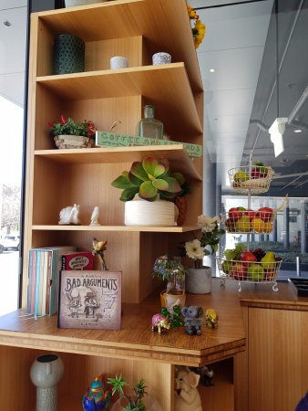 332 Manhattan Cafe: Lots of little items to browse including a reptile tank