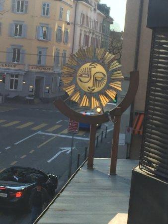 Zurich připojte tyče