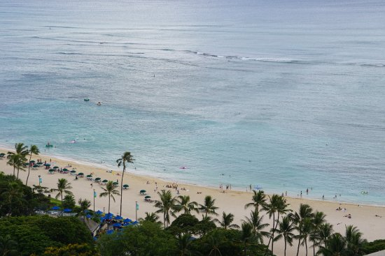 View From Oceanview Room At Ilikai Tower Picture Of Hilton