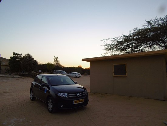 Dimona, Israel: You can park by your hut - no problem