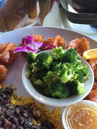Φορτ Πιρς, Φλόριντα: Coconut shrimp