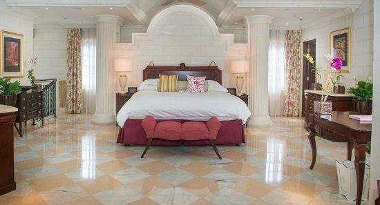 Sandy Lane Hotel: Villa Master Bedroom