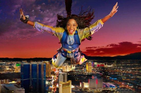 SkyJump Las Vegas på Stratosphere...