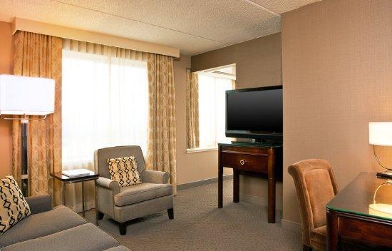 Frazer, Пенсильвания: Suite Living Room