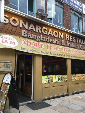 Sonargaon Restaurant Osborn Street
