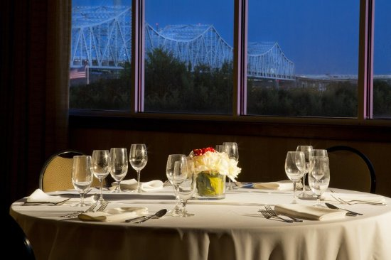 Jeffersonville, IN: Riverside Ballroom Detail with View