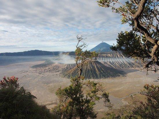 Mount Bromo: Mount Batok in the foreground