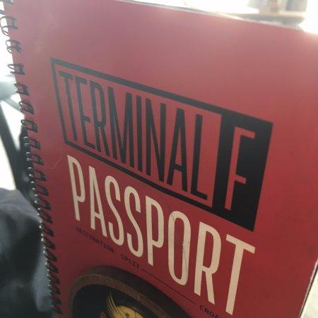 Terminal F: Menu