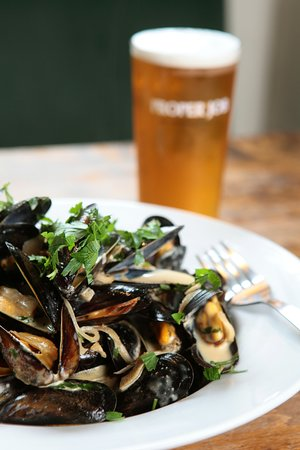 Polgooth, UK: Fresh seafood