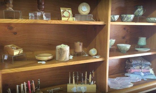 Lyndoch, Australia: Wood turning