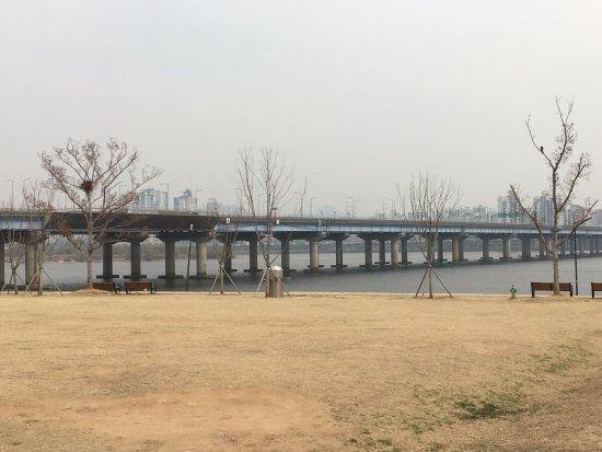 Le parc de Hangang : 漢江大橋