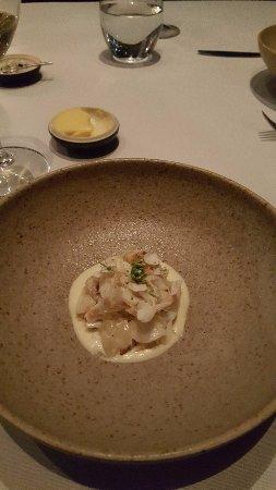 Quay Restaurant: Crab and cauliflower