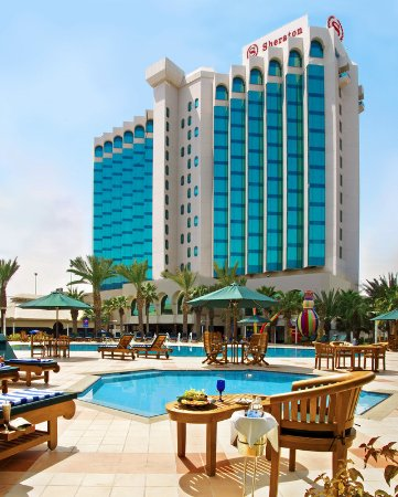 Sheraton Dammam Hotel & Convention Centre: Exterior day