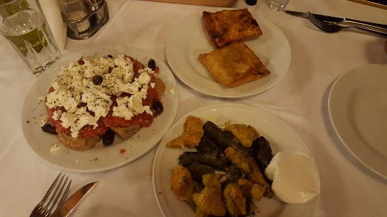 LEVENTIS: 3 of the best starter dishes