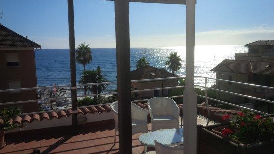 Hotel Moresco : Frühstücksterrasse