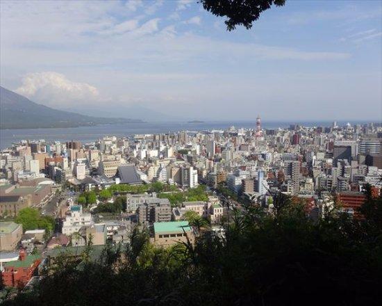 Shiroyama Park : 鹿児島市内