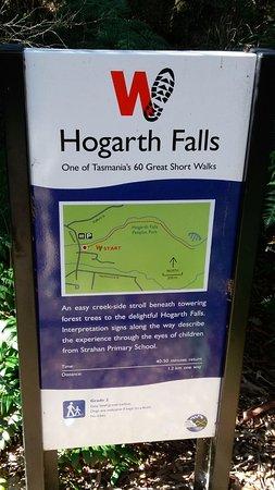 Strahan, Australië: Information at entrance