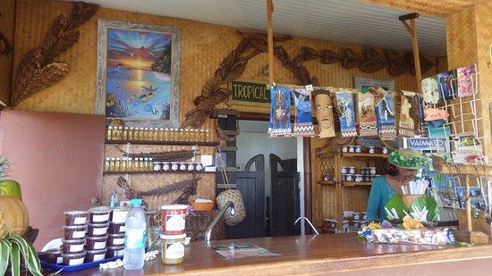 موريا, بولينيزيا الفرنسية: dégsutation de confitures