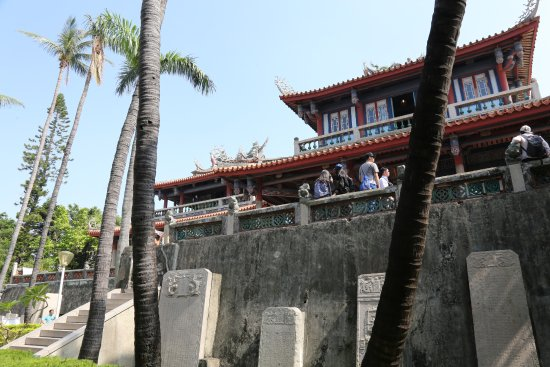 Chihkan Tower (Fort Provintia): A side view of one of the towers.
