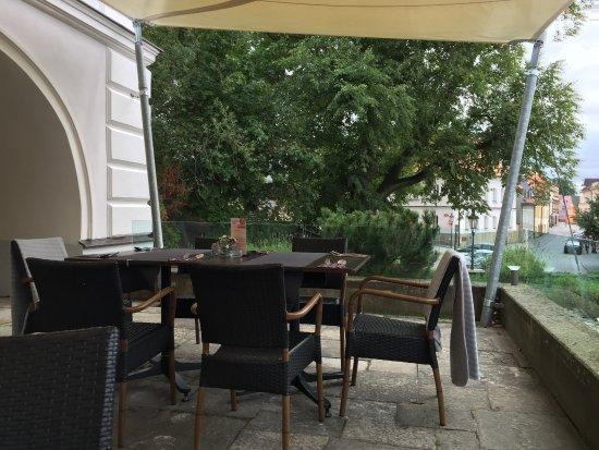 Litomysl, República Checa: terrazza