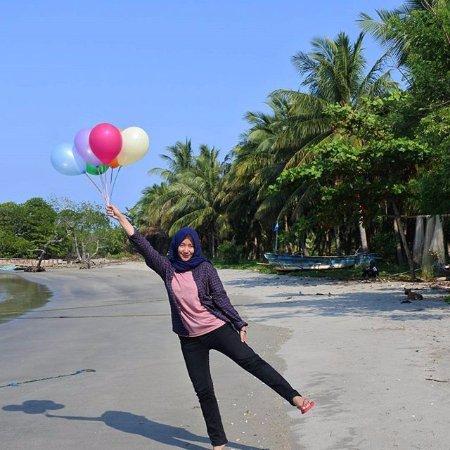 Lampung, อินโดนีเซีย: salah satu spot foto terbaik di sebesi