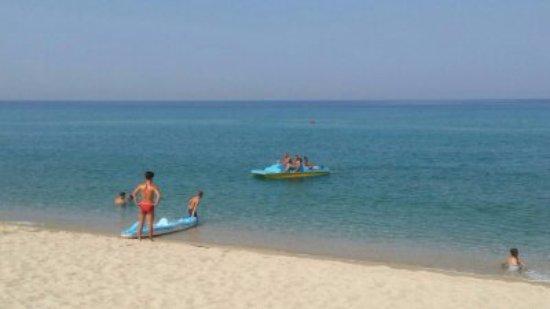 San Ferdinando, Italy: Canoe più pedalo