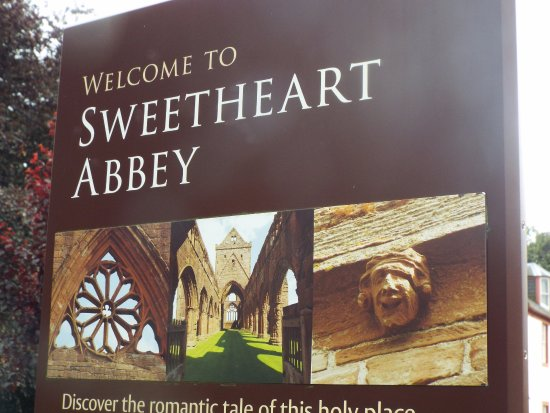 New Abbey, UK: Sweetheart Abbey