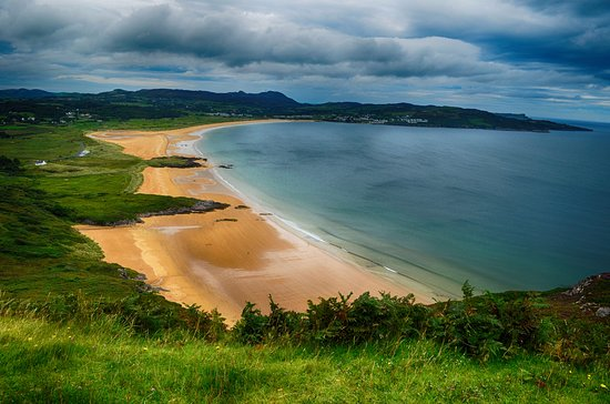 Donegal Tours Ballymastocker Beach In Portsalon