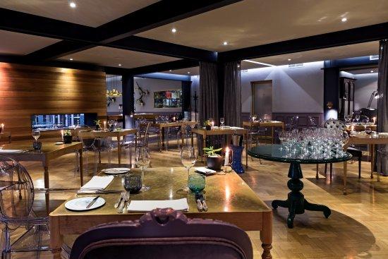 Makaron Restaurant: Evening before start of service