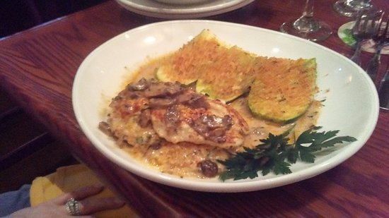 Enfield, CT: Stuffed Chicken Marsala