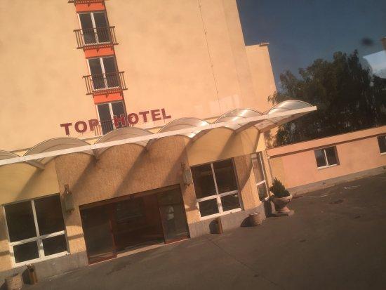 TOP HOTEL Praha : giriş