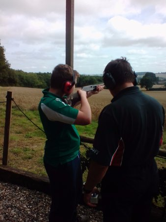 Much Wenlock, UK: Clay Pigeon Shooting