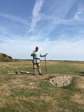 Sutton Hoo: Anglo Saxon Guide for tour of the gruesome graves!