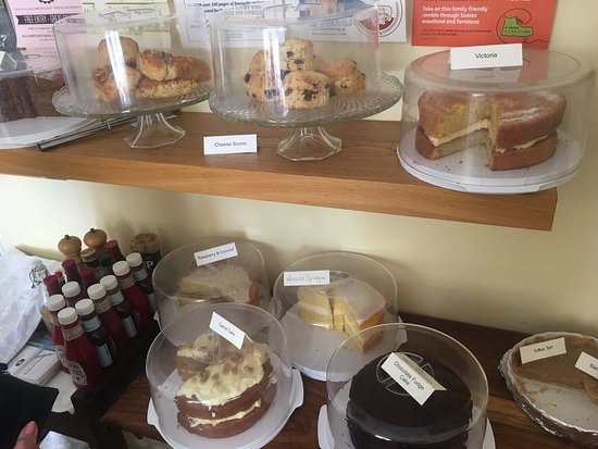 Balcombe, UK: Lovely selection of home made cakes