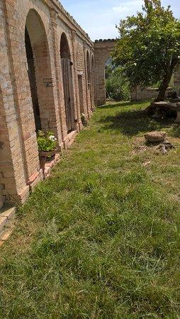 Montecassiano, Italy: Scorcio del giardino