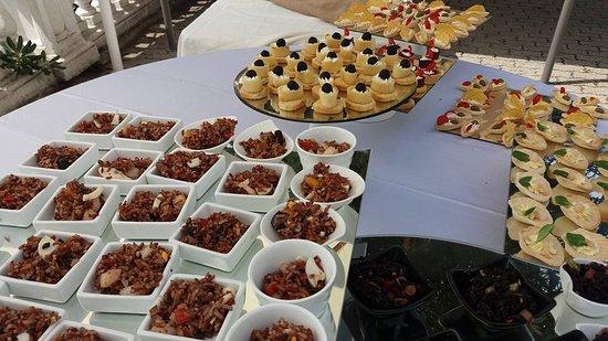 Gabiano, Italia: buffet stuzzicherie matrimonio