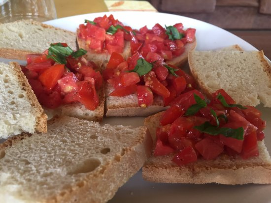 Province of Grosseto, Italia: Bruschetta.