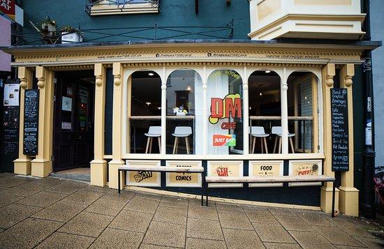 Dark Matter Cafe & Bar: Front of Store