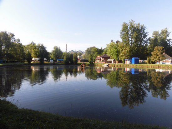 Brest, Hviderusland: 公園内の池